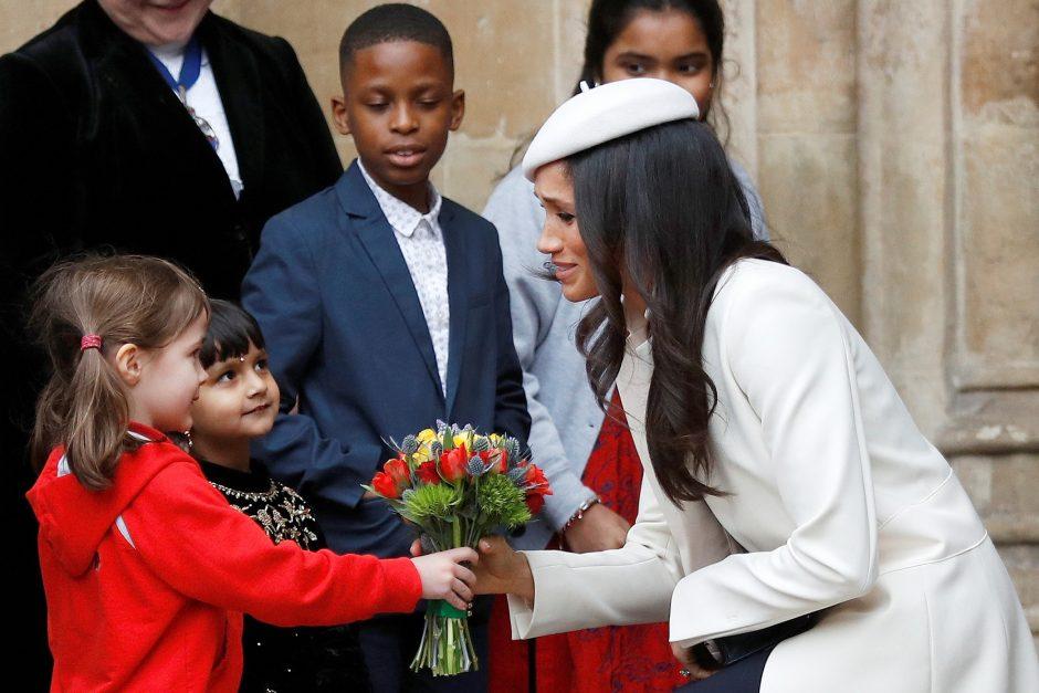 M. Markle dalyvavo pirmame oficialiame renginyje su karaliene