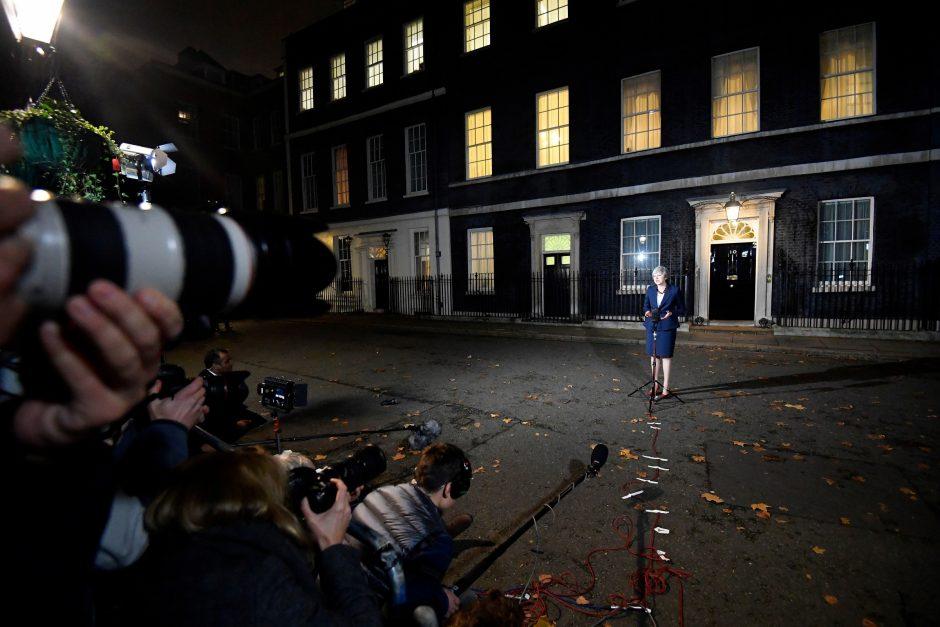 """""""Brexit"""" sutarties projekto derinimas"""