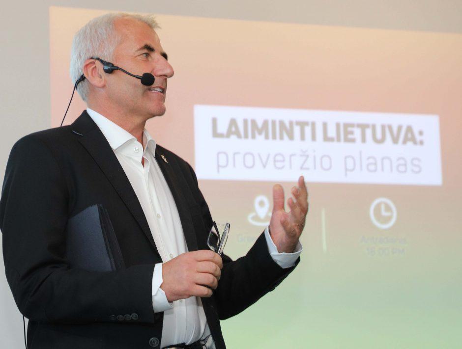 Pristatytas Lietuvos proveržio planas
