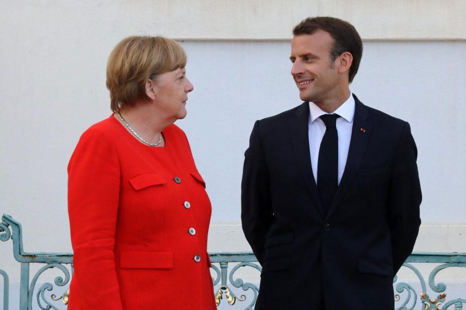 Vokietija ir Prancūzija siūlo įkurti ES Saugumo Tarybą