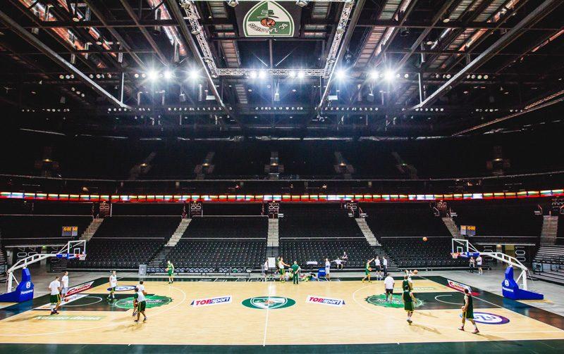 """""""Žalgirio"""" arena – geriausia vieta Lietuvos vyrų krepšinio rinktinės treniruotėms Lietuvoje"""