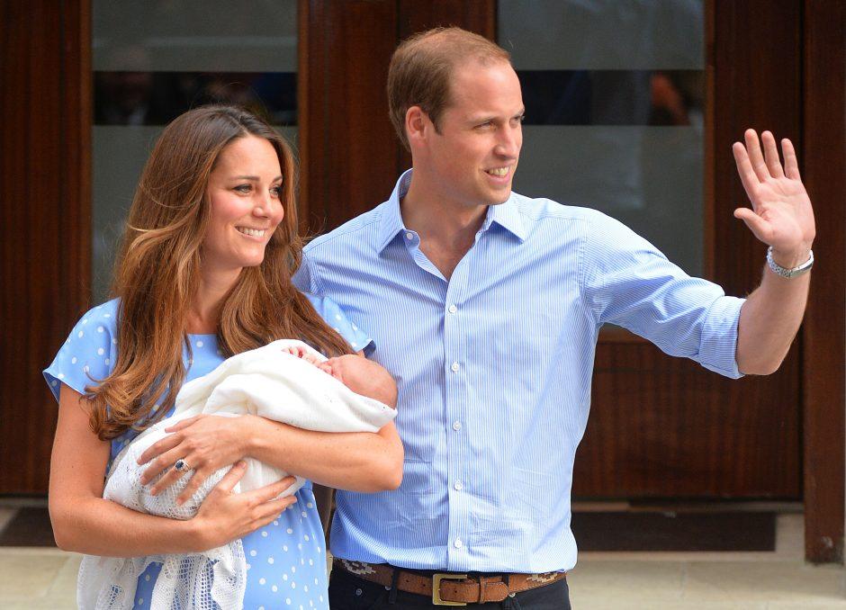 Karališkasis kūdikis jau turi vardą!