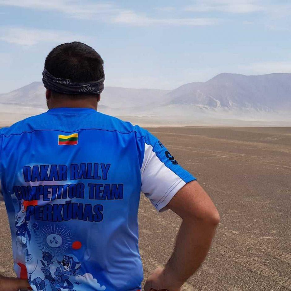 B. Bardauskas po finišo: galėčiau visą mėnesį važinėti