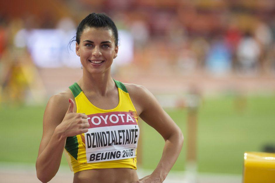 D. Dzindzaletaitė įvykdė pasaulio čempionato normatyvą