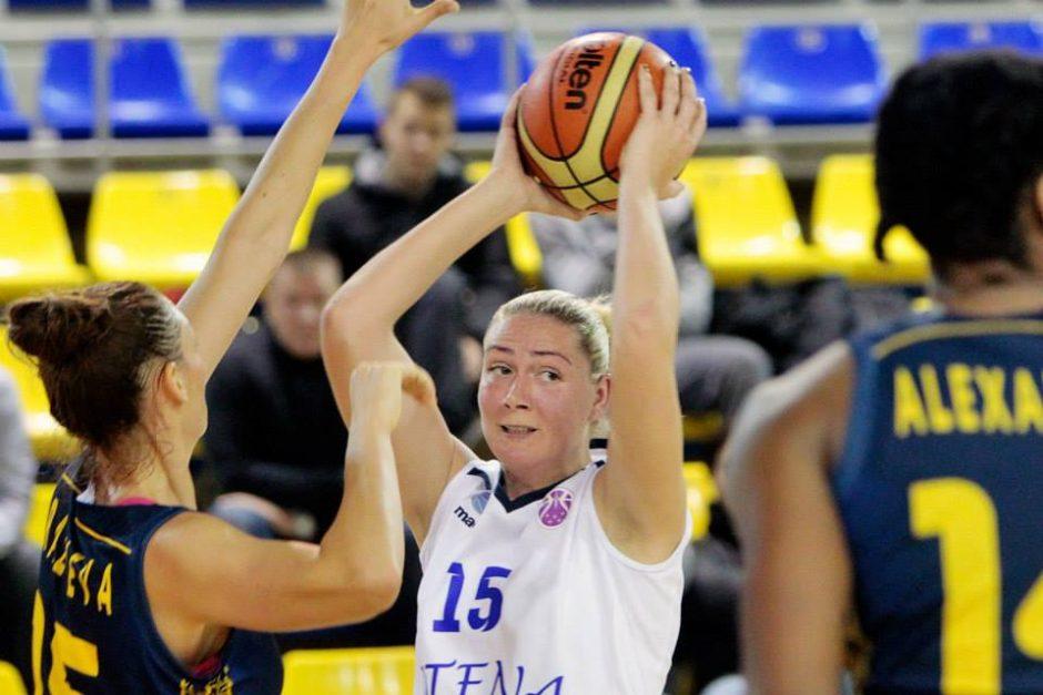 Krepšininkės E. Šulčiūtės komanda baigė pasirodymą Europos taurės turnyre