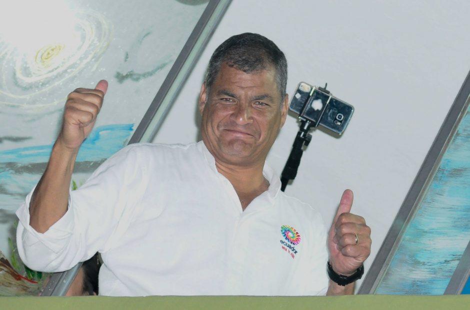 Buvęs Ekvadoro prezidentas R. Correa paprašė prieglobsčio Belgijoje