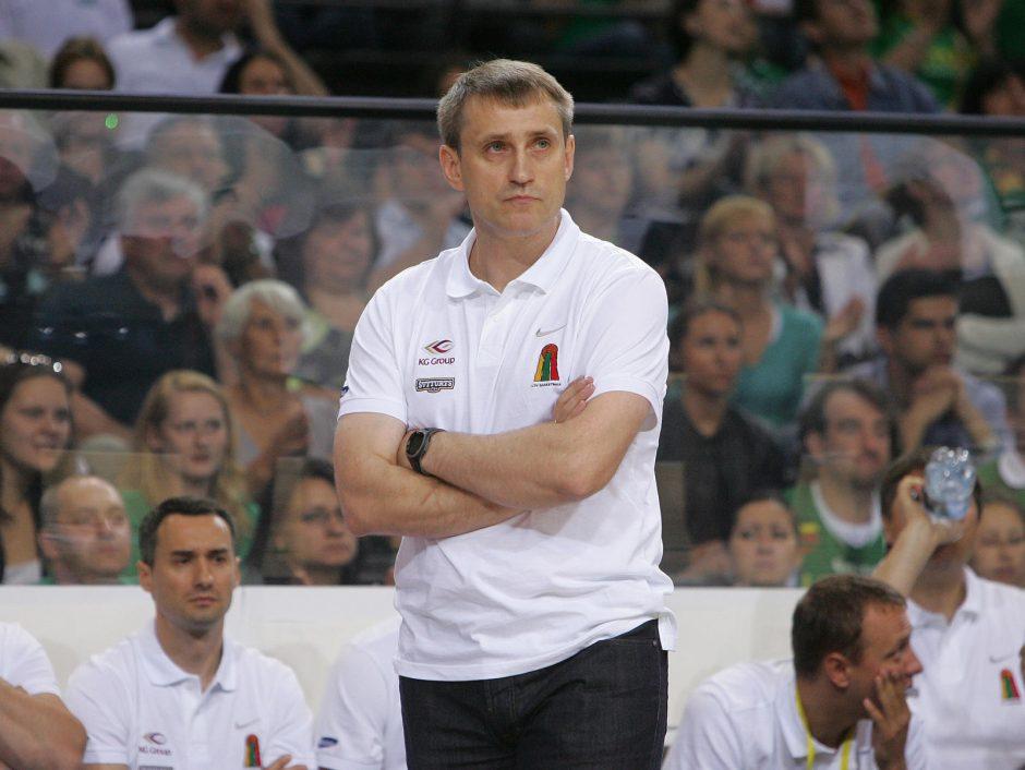 K. Kemzūra apie krepšinio rinktinę: nerimauju dėl kai kurių žaidėjų patirties stokos