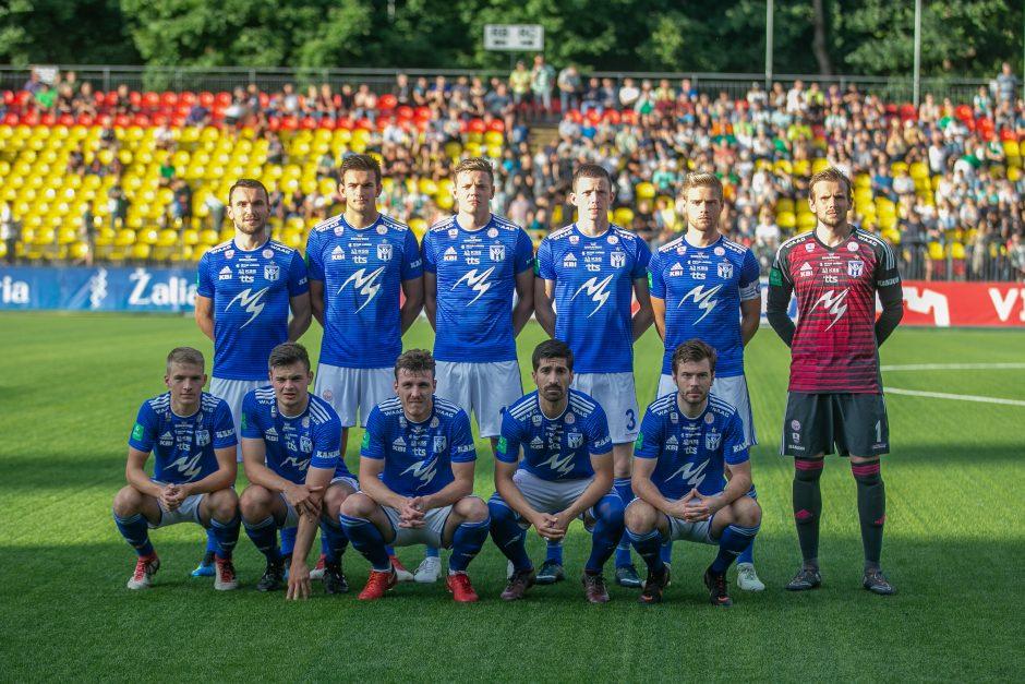 """UEFA Europos lyga: """"Žalgiris"""" - """"KI Klaksvik"""" 1:1"""