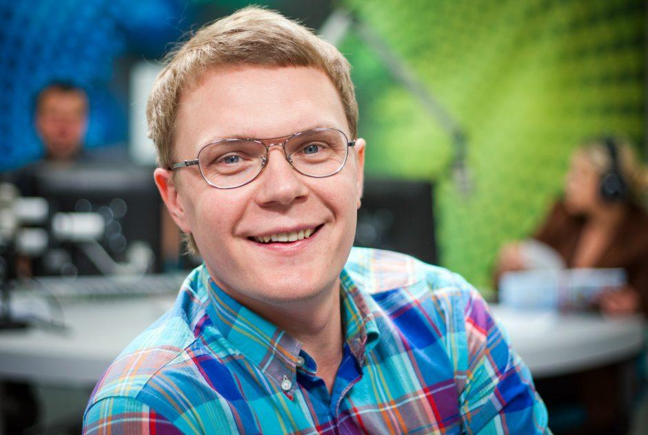 M. Stasiulis tapo naujojo TV3 šou vedėju