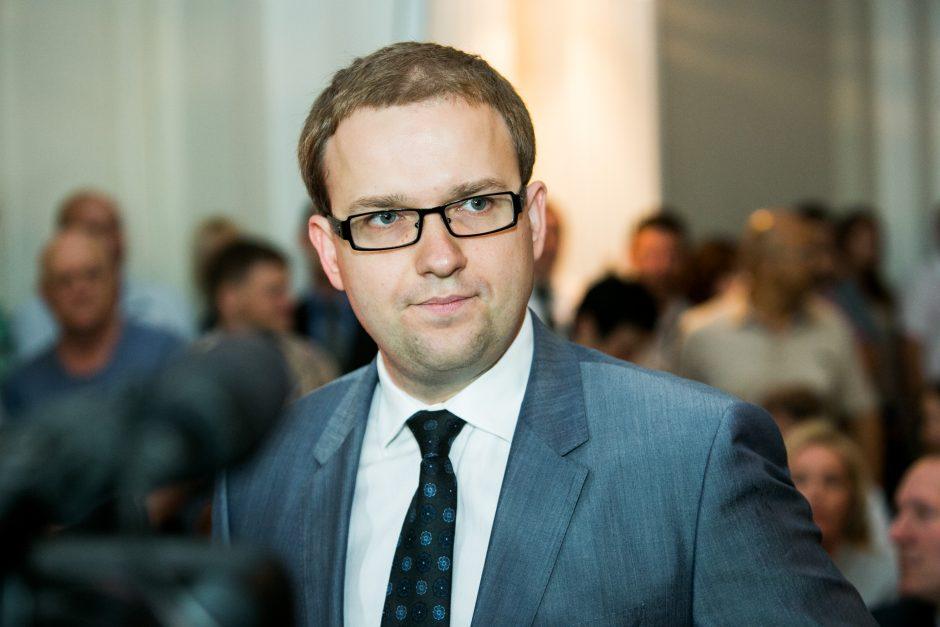 Premjeras mano, kad V. Gapšys pajuokavo dėl Seimo pirmininko posto