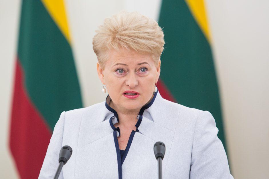 Prezidentė: žydus gelbėję lietuviai perdavė stiprų tautų ryšį