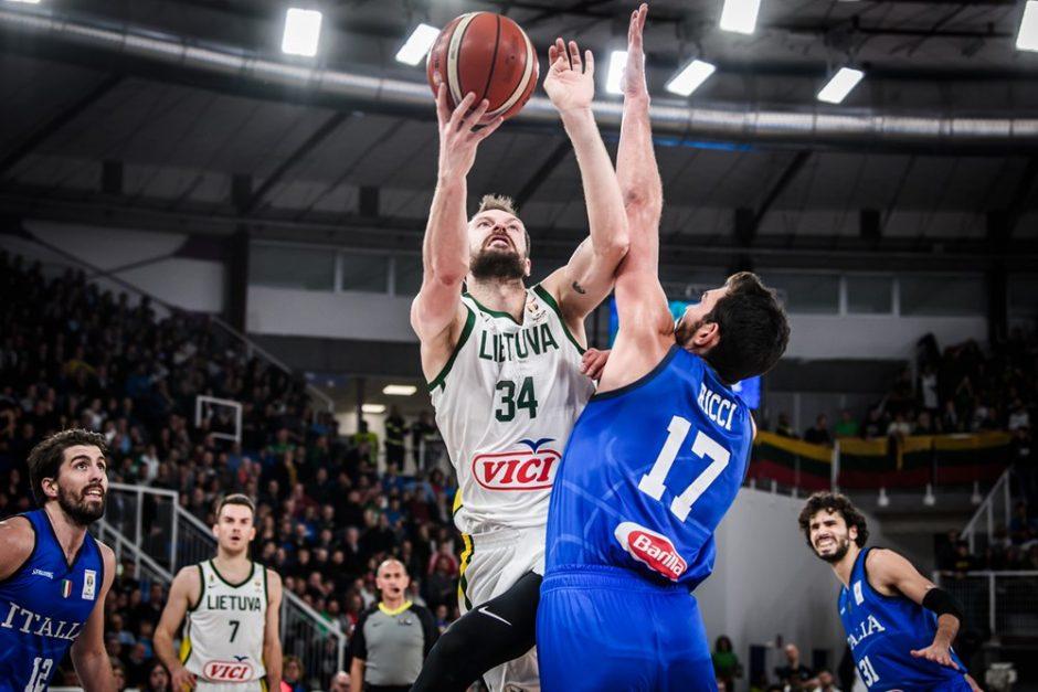 Lietuvos krepšininkai patyrė pirmąją nesėkmę pasaulio čempionato atrankoje