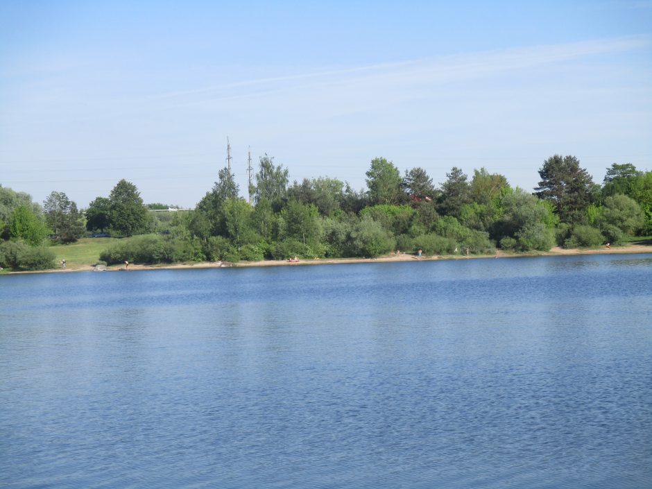 Vandens kokybė keliuose šalies telkiniuose kelia rūpesčių
