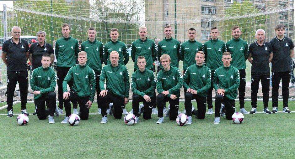 Lietuvos studentų futbolo rinktinė nugalėjo Rumuniją
