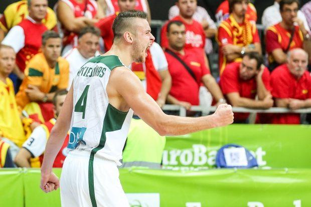Lietuviai džiaugėsi vienybe, makedonai kaltino teisėją (žaidėjų komentarai)