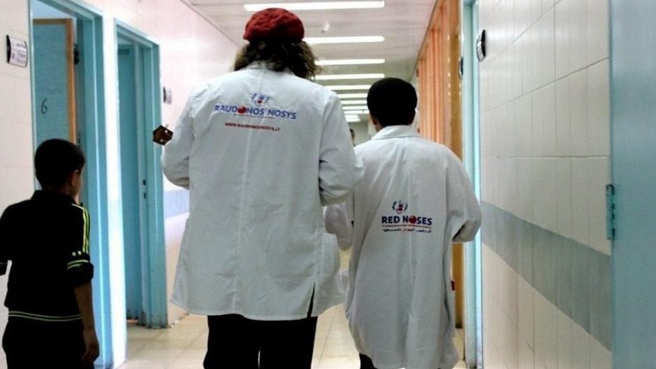 """""""Raudonos nosys. Gydytojai klounai"""" jau aplankė daugiau nei 70 tūkst. vaikų"""