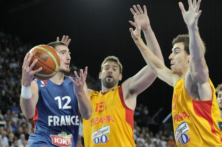 Europos krepšinio čempionate prognozuojamas ispanų triumfas