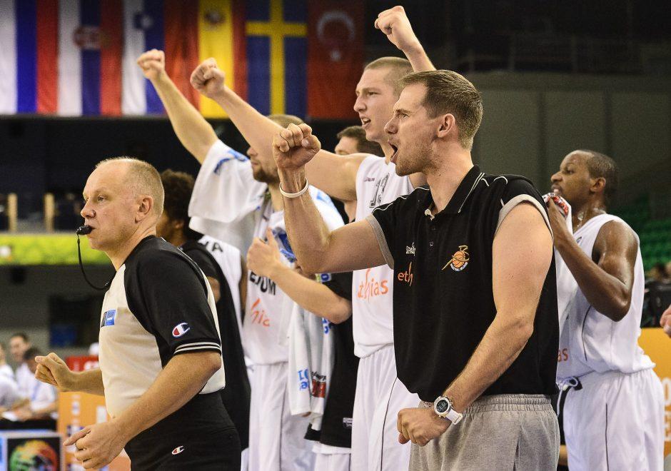 Belgijos krepšininkai palaužė britus