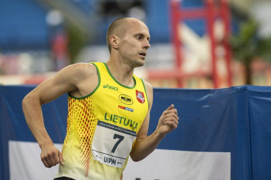 J. Kinderis pateko į pasaulio čempionato finalą