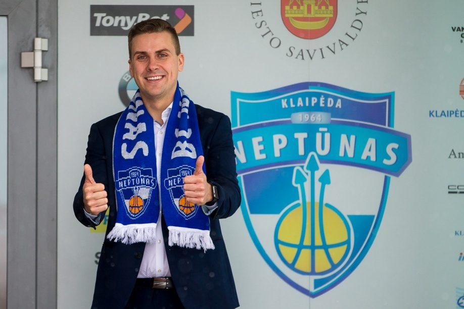 """""""Neptūno"""" direktoriumi tapo talentingas vadybininkas V. Sukonas"""