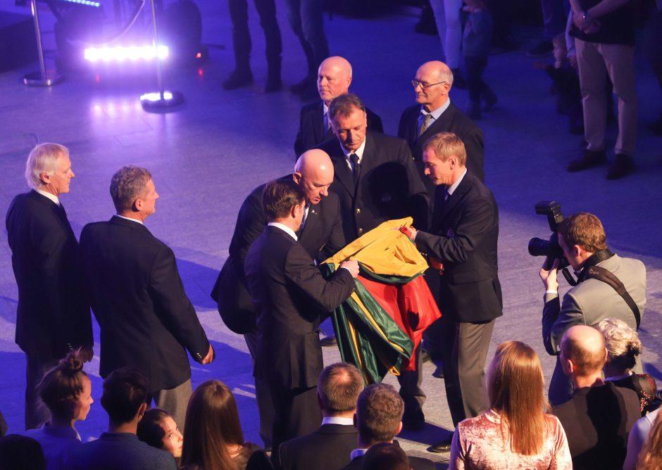 """Nauja """"Ambersail II"""" jachta taps naująja Lietuvos vėliavneše"""