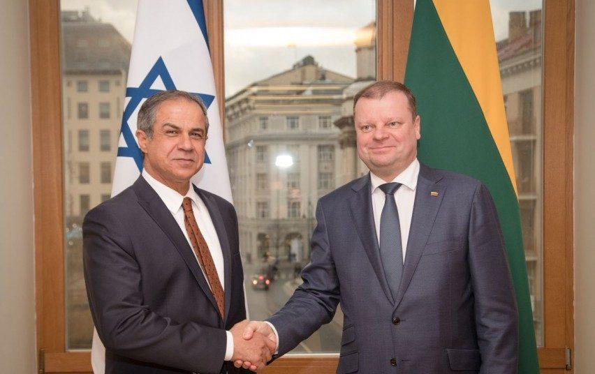 S. Skvernelis: Lietuvai svarbus bendradarbiavimas su Izraeliu