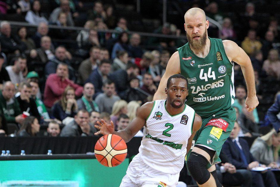 """""""Žalgirio"""" krepšininkai iškovojo nesunkią pergalę Alytuje"""