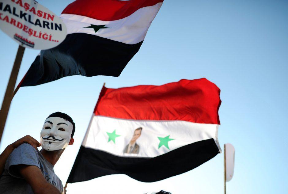 Prancūzija paskelbs dokumentus dėl Sirijos cheminių ginklų