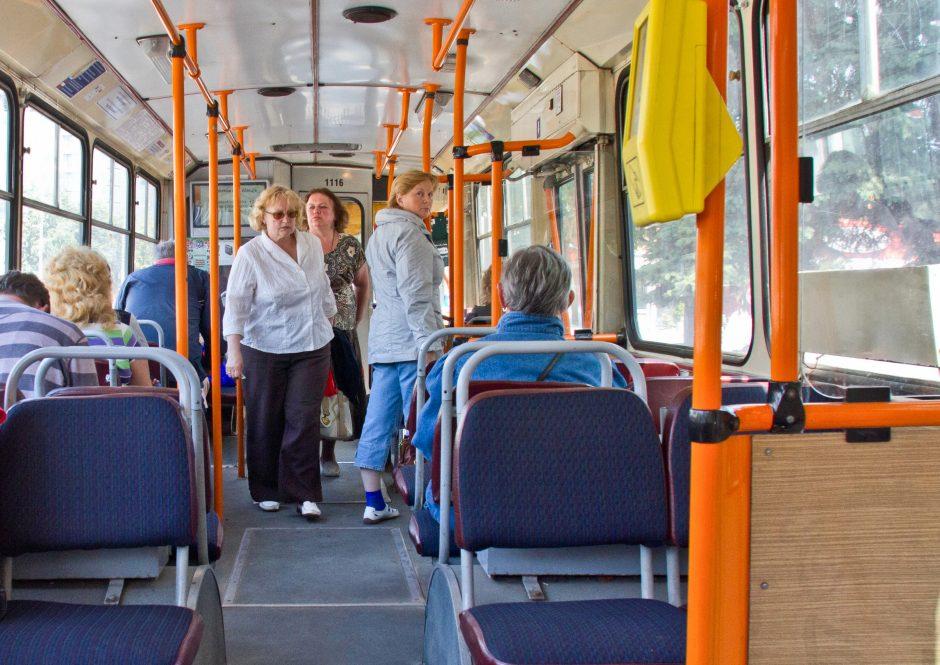 Kovoje su spūstimis meta visuomeninio transporto kozirį