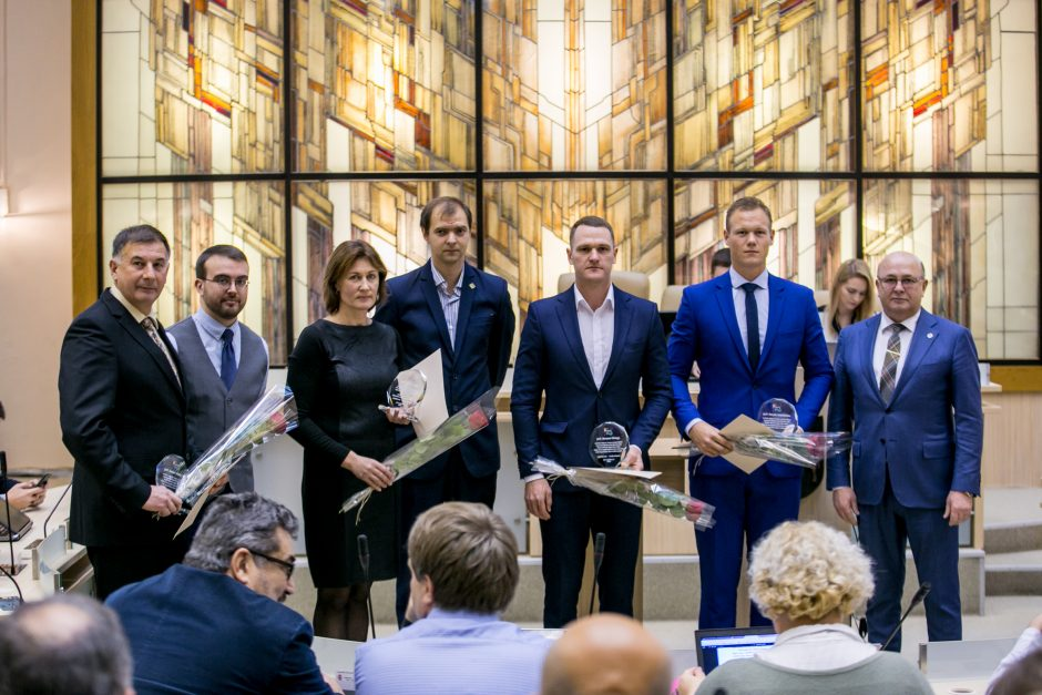 Kauno miesto tarybos posėdis (2017 m. lapkričio mėn.)