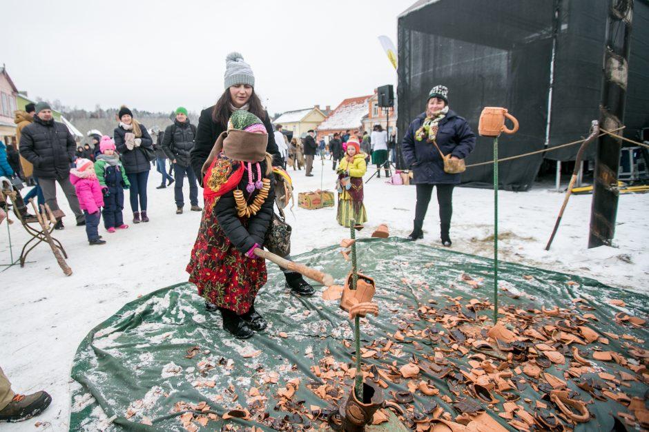 Rumšiškėse žiemą išvarė su trenksmu