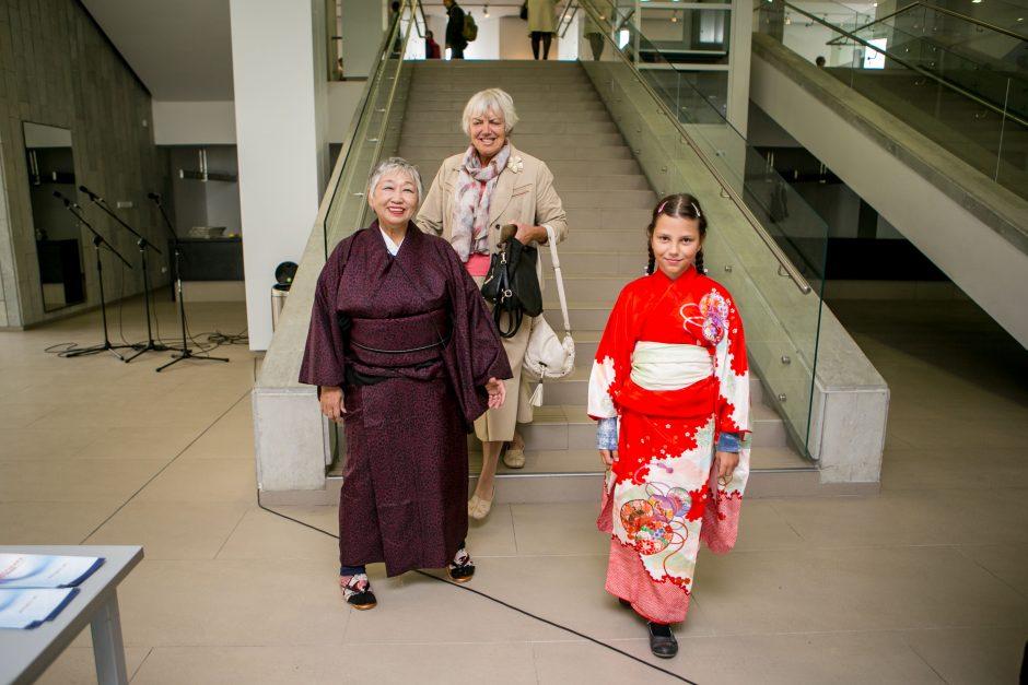 Japoniški aitvarai nuspalvino Kauno padangę
