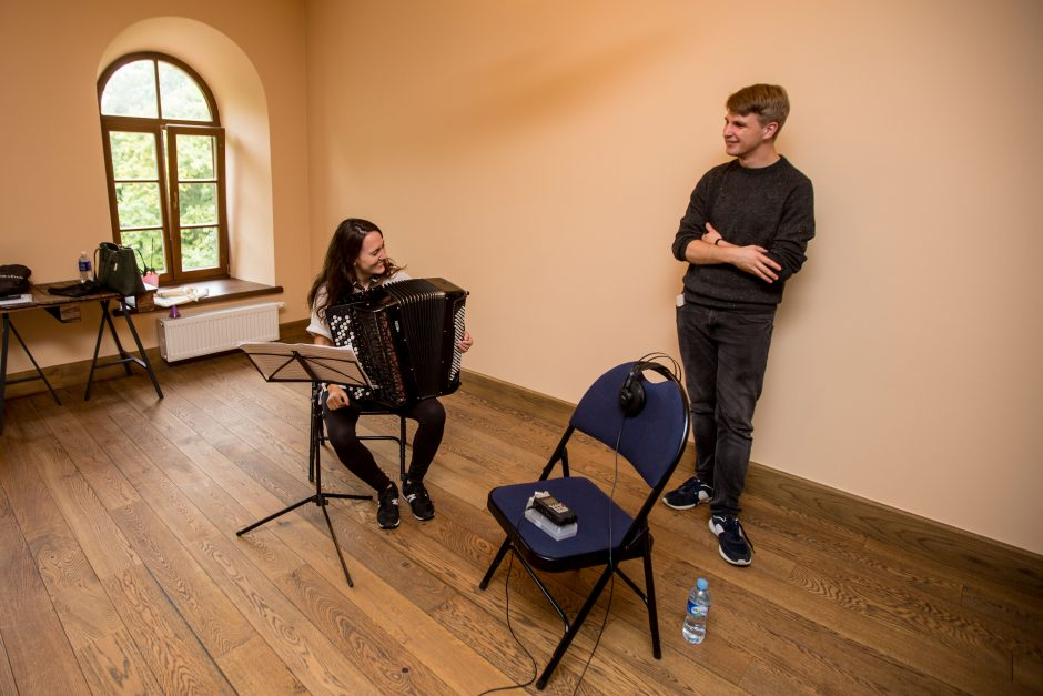 M. Levickio vasaros akademija Raudondvaryje