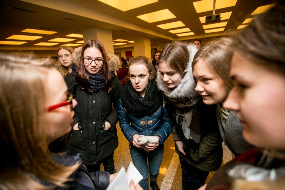 Jaunimas prieš šventes dovanojo gerus darbus