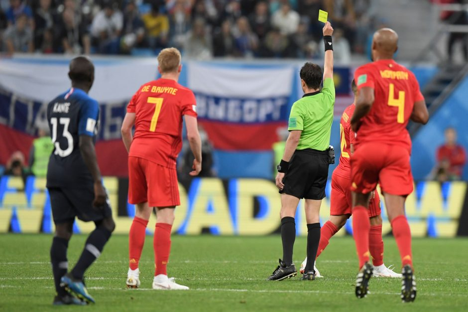 Prancūzijos futbolininkai žengė į pasaulio čempionato finalą