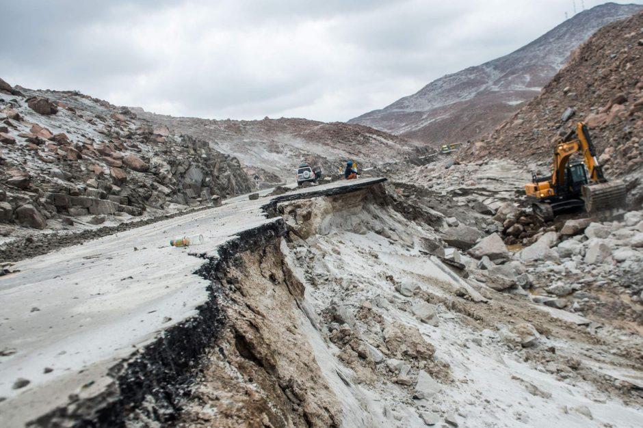 Peru potvynių aukų padaugėjo iki 15