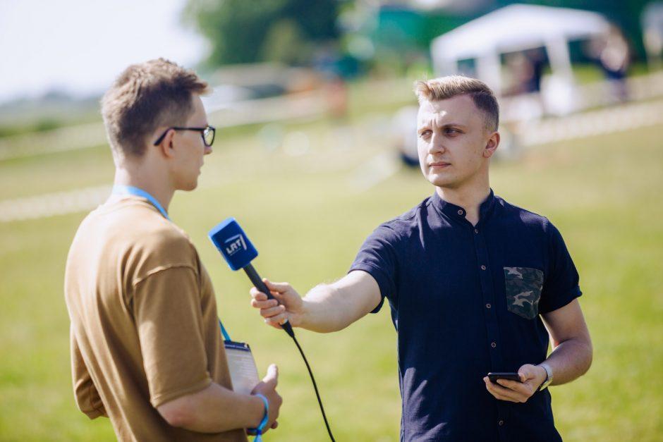 Pirmasis dronų festivalis