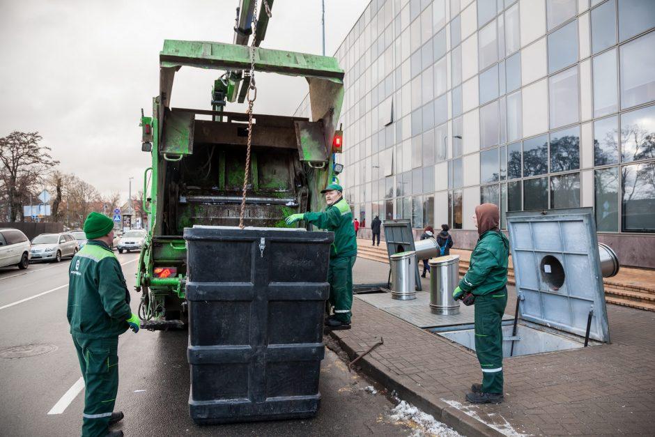 Vilniečiai už atliekų tvarkymą mokės trečdaliu mažiau