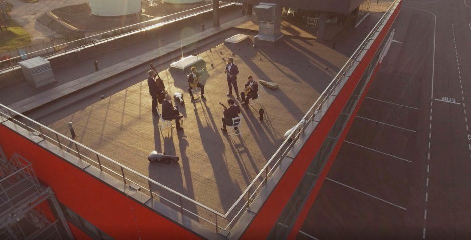 Vilniaus oro uosto taką įamžino muzikiniame vaizdo klipe