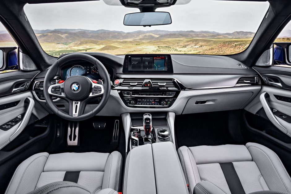 """Debiutuoja istoriją keičiantis naujasis """"BMW M5"""""""