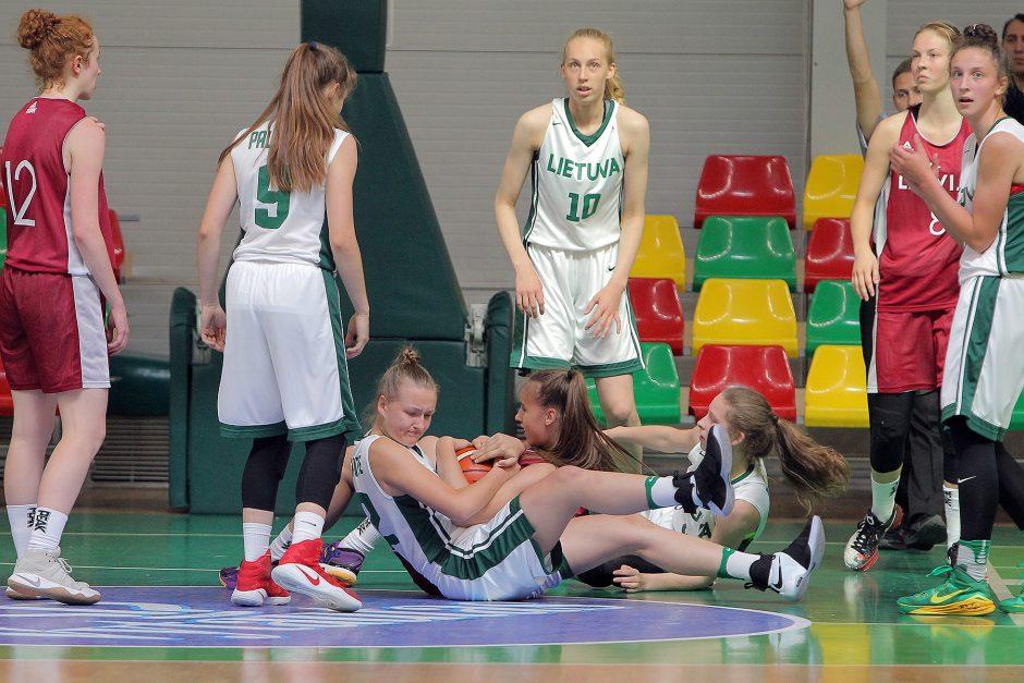 Lietuva U16 – Latvija U16 [merginos]