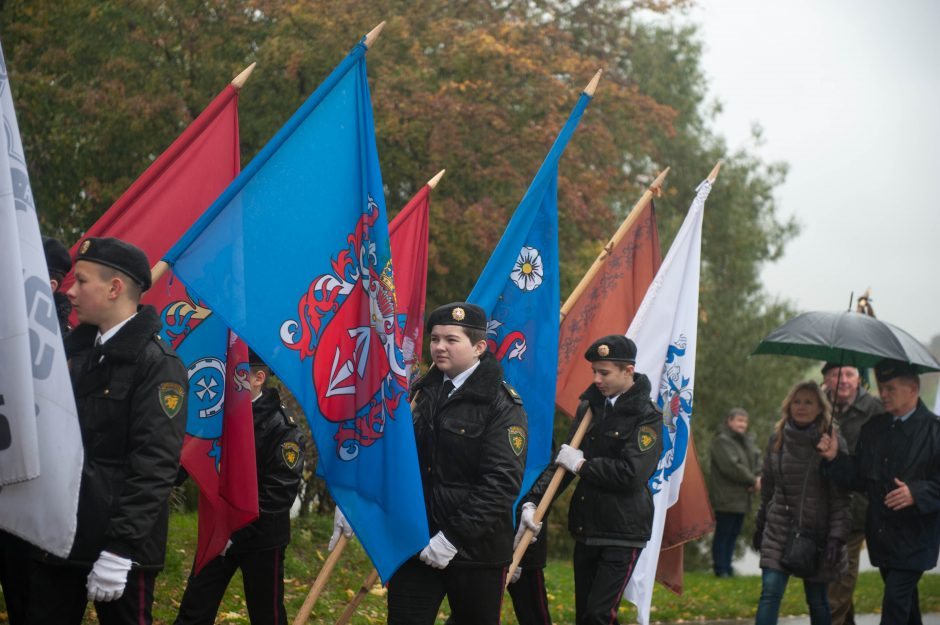 Kaune – salvės savam ir daugybės kitų šalių nacionaliniam didvyriui T. Kosciuškai
