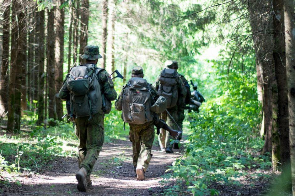 Klaipėdos regione vyks karių savanorių pratybos