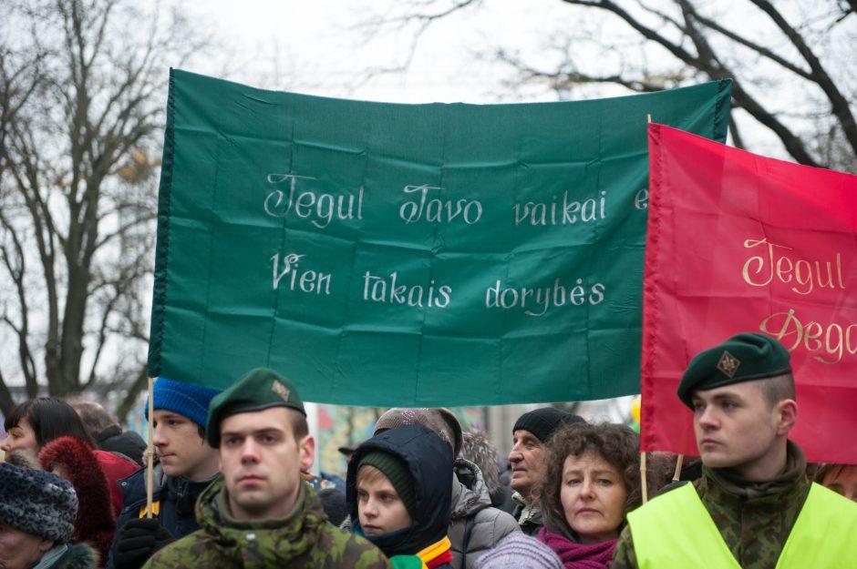 Vasario 16-osios minėjimas Kaune