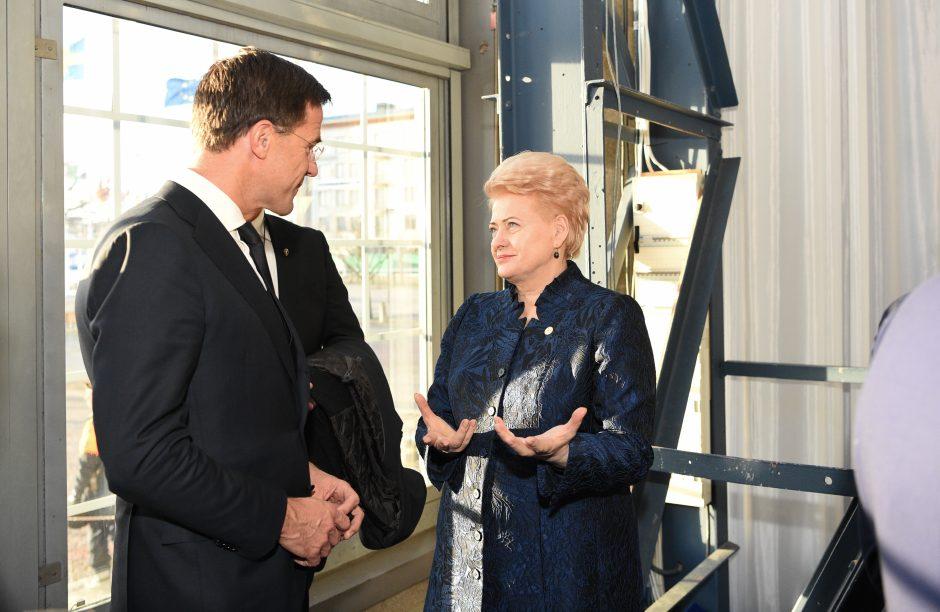 Prezidentė dalyvauja ES vadovų susitikime Geteborge