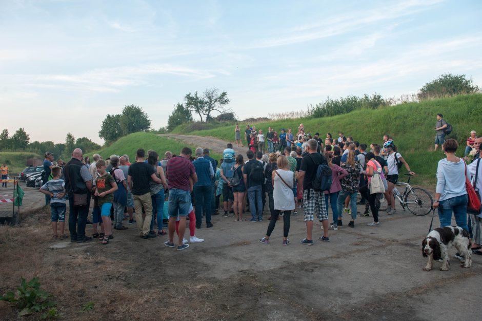 Pirmą kartą surengtoje naktigonėje – šimtai žmonių