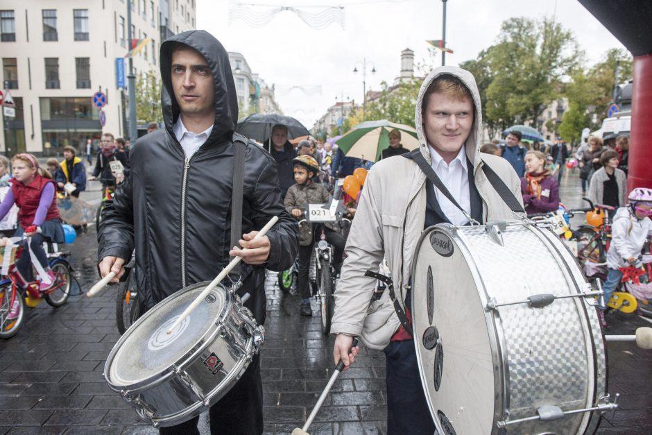 Sporto sekmadienių virtinę sostinėje vainikavo dviračių paradas