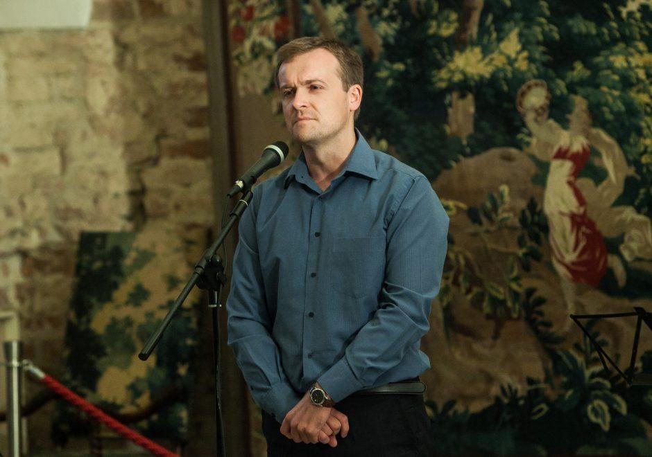 """""""Poezijos pavasario"""" laureatų kūrybos vakaras"""