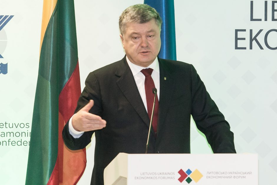 Lietuvos ir Ukrainos prezidentų susitikimas Vilniuje