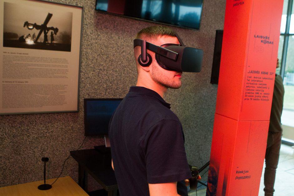 Sausio 13-osios įvykiai – virtualioje realybėje